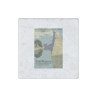 Fort Marion National Monument Stone Magnet