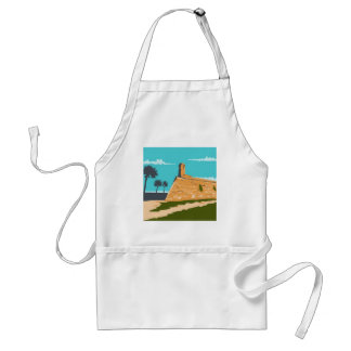 Fort Marion St. Augustine WPA Adult Apron
