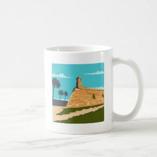 Fort Marion St. Augustine WPA Coffee Mug