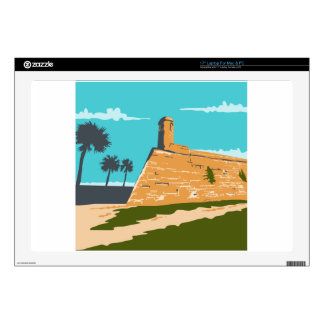 Fort Marion St. Augustine WPA Decals For Laptops