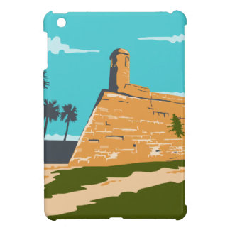 Fort Marion St. Augustine WPA iPad Mini Cover