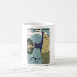 Fort Marion Vintage Travel Poster Coffee Mug