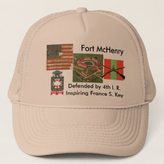 Fort McHenry, 4th I. R. Trucker Hat