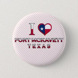 Fort McKavett, Texas Button