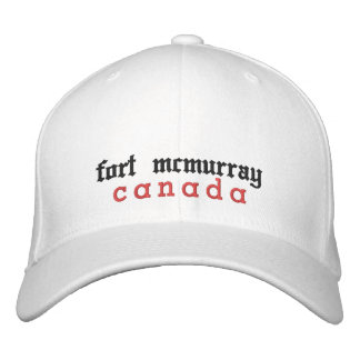fort mcmurray, canada, Hat Embroidered Hat
