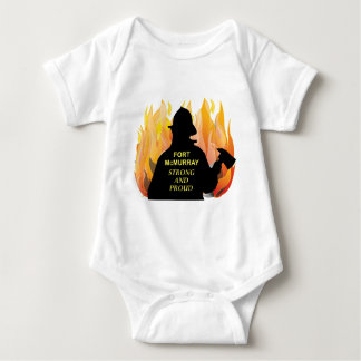 Fort McMurray – Strong and Proud Baby Bodysuit