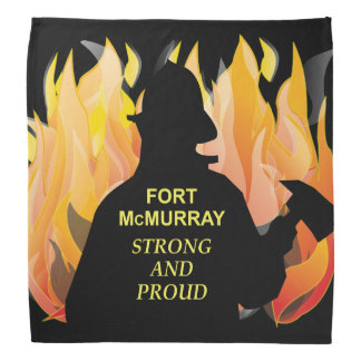 Fort McMurray Strong and Proud - Dog Bandana