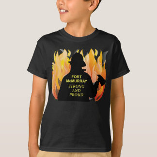 Fort McMurray Strong and Proud - Kid's T-Shirt