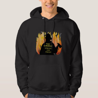 Fort McMurray Strong and Proud - Men's Hoodie