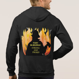 Fort McMurray Strong and Proud - Men's Sleeveless Hoodie