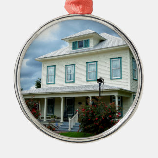 Fort Meade History Metal Ornament