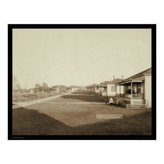 Fort Meade Residential Area SD 1889 Poster
