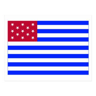 Fort Mercer Flag Post Card
