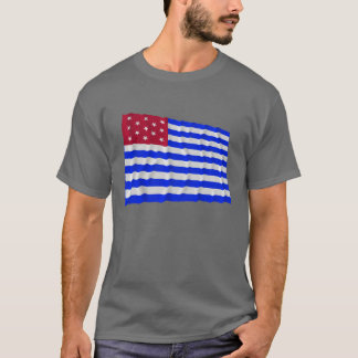 Fort Mercer Waving Flag T-Shirt