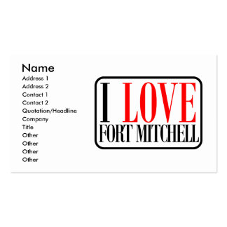 Fort Mitchell Business Card