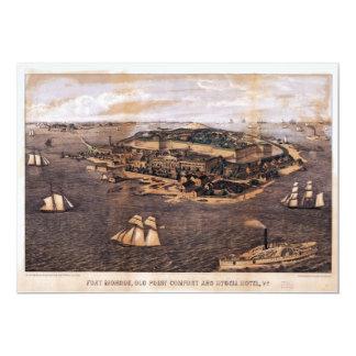 Fort Monroe Virginia (1861) Card