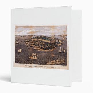 Fort Monroe Virginia (1861) Vinyl Binder