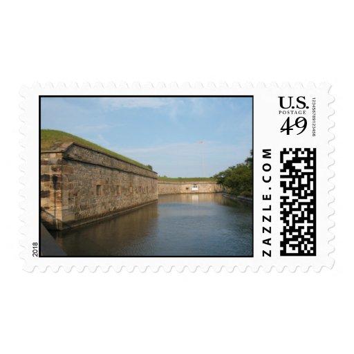 Fort Monroe, Virginia Postage Stamps