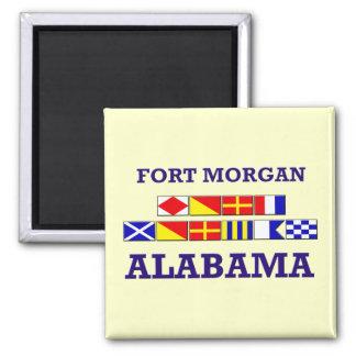 Fort Morgan Flag Magnet