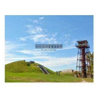 Fort Mott - New Jersey. Postcard