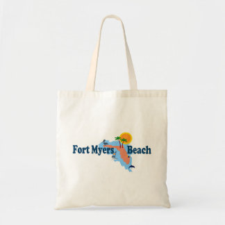 Fort Myers Beach. Budget Tote Bag