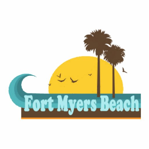 Fort Myers Beach. Cut Out