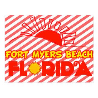 Fort Myers Beach, Florida Postcard