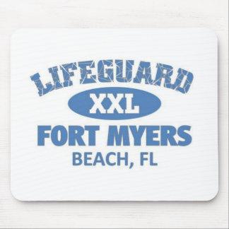 Fort Myers beach Mousepads