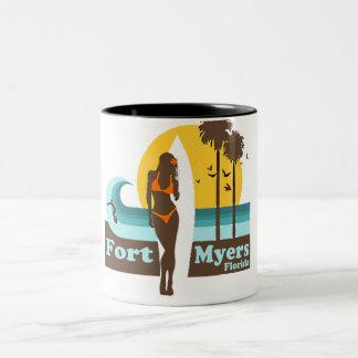 Fort Myers Beach. Coffee Mugs