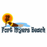 Fort Myers Beach. Photo Cut Out