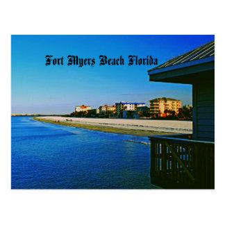 Fort Myers Beach Postcard