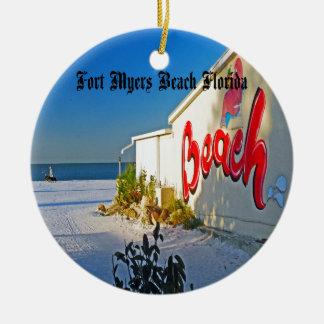 Fort Myers florida Ceramic Ornament