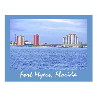 Fort Myers, Florida, U.S.A. Post Card