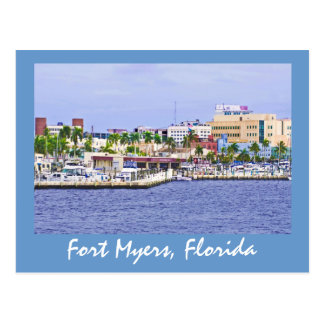Fort Myers, Florida, U.S.A. Postcard