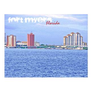 Fort Myers, Florida, U.S.A. Postcard