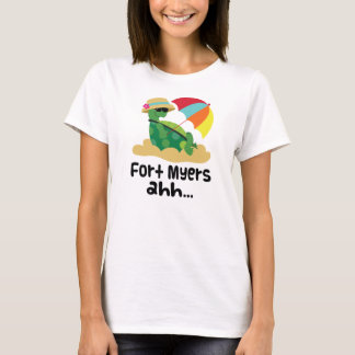 Fort Myers (Turtle on Beach) T-Shirt