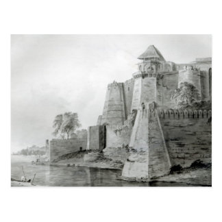 Fort on the Yamuna River, India Postcard