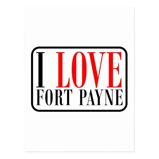 Fort Payne, ALabama Postcard