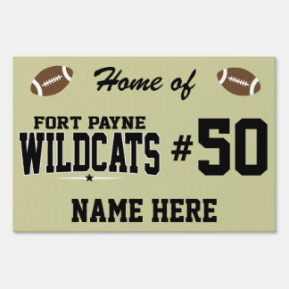Fort Payne High School; Wildcats Lawn Signs