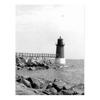 Fort Pickering Lighthouse Postcard