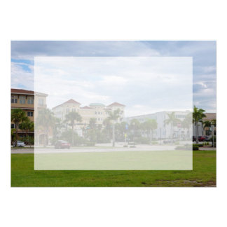 fort pierce downtown south view custom invitations