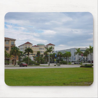 fort pierce downtown south view mouse pads