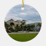 fort pierce downtown south view ornaments