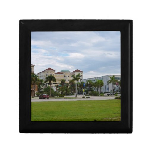 fort pierce downtown south view trinket boxes