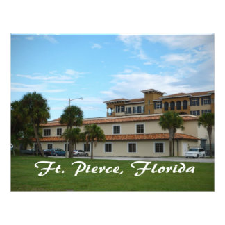 fort pierce florida downtown library personalized flyer