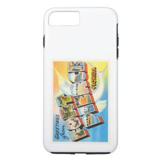 Fort Pierce Florida FL Old Vintage Travel Souvenir iPhone 8 Plus/7 Plus Case