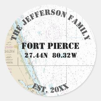 Fort Pierce Florida Nautical Envelope Seals
