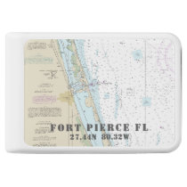 Fort Pierce Nautical Chart Latitude Longitude Power Bank