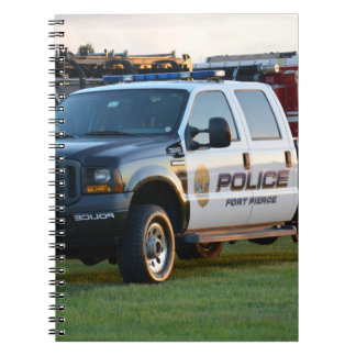 fort pierce police department pickup truck note books