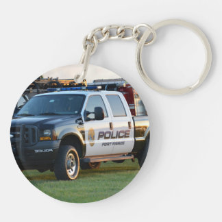 fort pierce police department pickup truck keychains